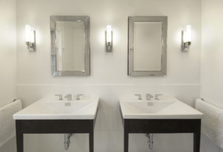 Master Bath Sink Basin for Two