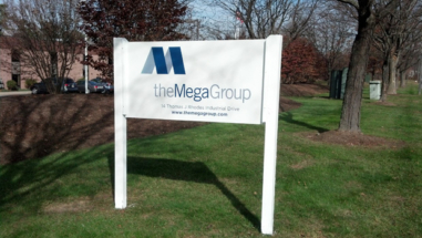 Mega Group Post and Panel Sign